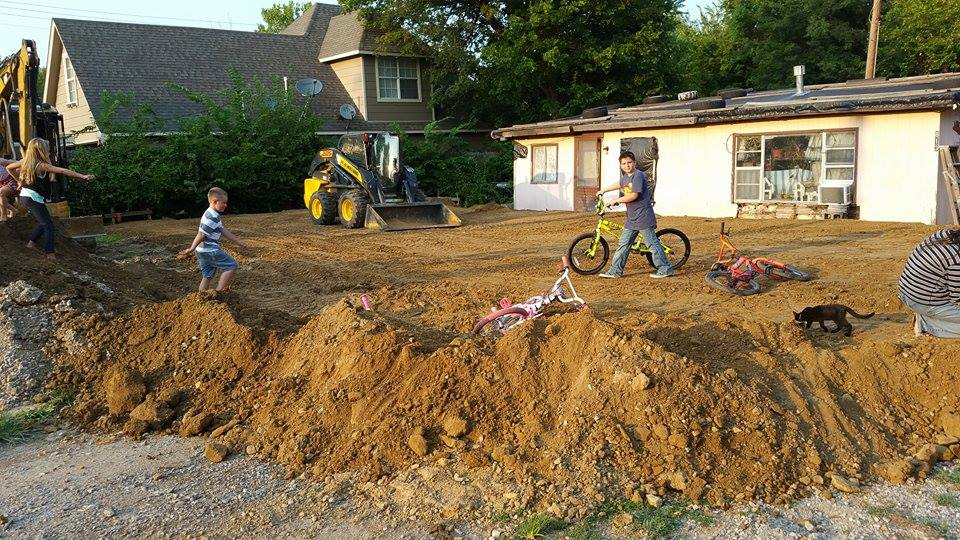 Excavating on Residential Property